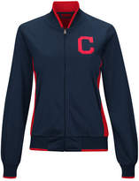 G-iii Sports Women's Cleveland Indians Triple Track Jacket