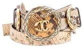 Just Cavalli Python Waist Belt