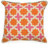 One Kings Lane Anika 22x22 Cotton Pillows, Orange