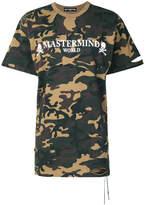 Mastermind Japan camouflage print T-shirt