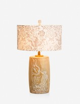Lulu & Georgia Morris & Co. Forest Lamp, Whitewash
