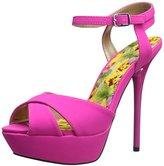 Qupid Women's Daydream-49 Platform Sandal
