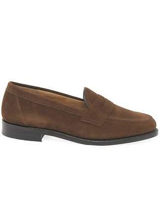 Loake Eton Suede Standard Fit Loafers