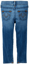 True Religion Casey Single End Jean (Toddler & Little Girls)