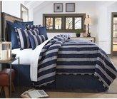 Daniel Cremieux Andrew Striped Twill & Percale Comforter Mini Set