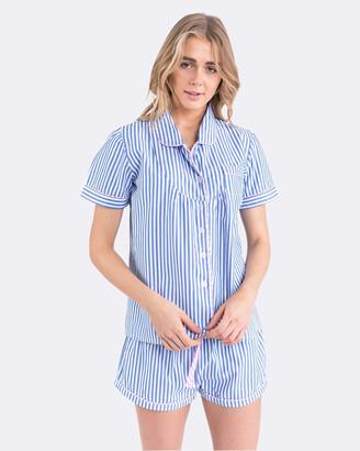 Sant and Abel Braddock Women's Short Sleeve Shirt