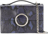 Orciani fold over Diamond clutch - women - Leather - One Size