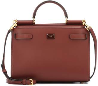 Dolce & Gabbana Sicily 62 Small leather tote