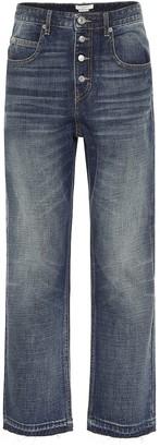 Etoile Isabel Marant High-rise straight jeans
