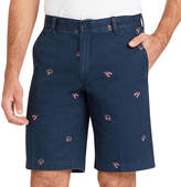 Izod Saltwater Beachtown Printed Short Twill Cargo Shorts Big and Tall