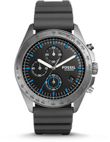 Fossil Sport 54 Chronograph Gray Silicone Watch