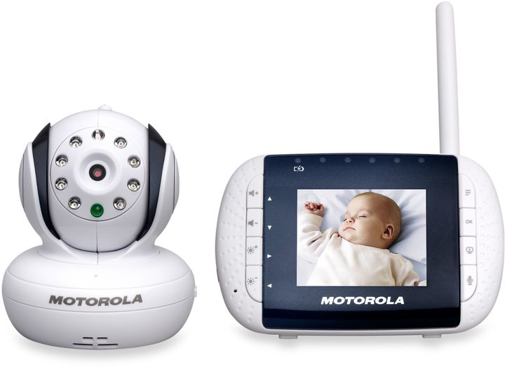 Motorola MBP33 Digital Video Baby Monitor with 2.8-Inch Color LCD Screen