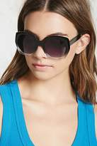 Forever 21 FOREVER 21+ Ombre Round Sunglasses