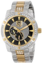 Ecko Unlimited Men's E18507G2 The Possession Textured Sunray Dials wuth Reapeat logo pattern Watch