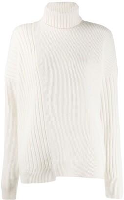 Falke turtleneck cable-knit jumper