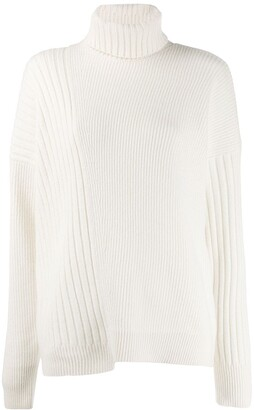 Falke Turtleneck Cable-Knit Jumper