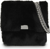 Claudie Pierlot Angela small fur cross-body bag