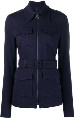 Victoria Victoria Beckham Belted Fitted Jacket