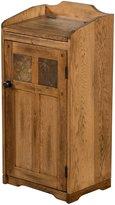 Sunny Designs 2110RO Sedona Trash Box, Rustic Oak Finish