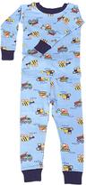 New Jammies Blue Construction Organic Pajama Set - Boys