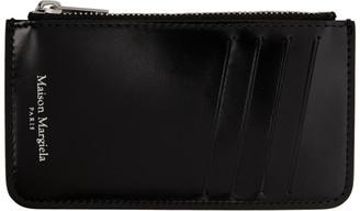 Maison Margiela Black Card Holder Coin Pouch