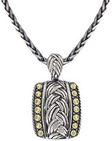 Effy Jewelry Effy 925 Classic Sterling Silver and 18K Yellow Gold Pendant