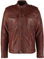 Pepe Jeans Picanol Leather Jacket 857caramel