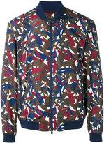 Z Zegna printed bomber jacket - men - Polyester - M