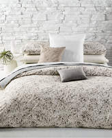 Calvin Klein Nocturnal Blossoms Cotton Queen Duvet Cover Bedding