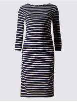 Marks and Spencer Maternity Striped Dress with Modal