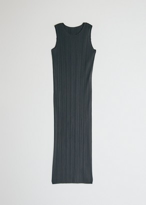 Pleats Please Issey Miyake Women's Sleeveless Basics Dress in Black, Size 3