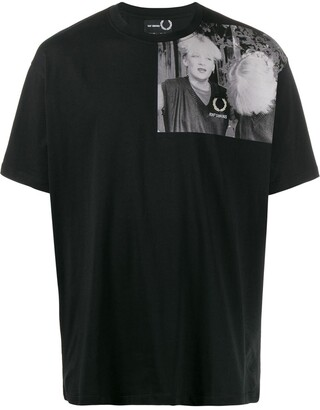 Fred Perry photograph print T-shirt