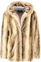 SET Short coat brown camel