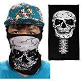 New Cycling Motorcycle Neck Tube Ski Scarf Face Mask Balaclava Halloween Party Mask (B)