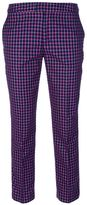 Marc by Marc Jacobs cropped jacquard trouser