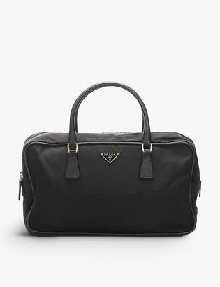 Resellfridges Pre-loved Prada Tessuto nylon and leather top-handle bag