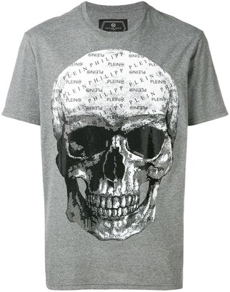 Philipp Plein printed skull T-shirt
