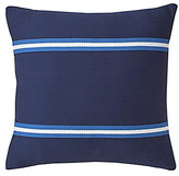Southern Tide Dock Street Striped Cotton Square Feather Pillow