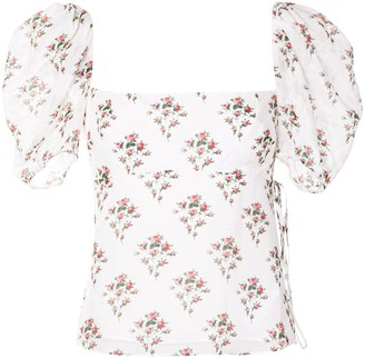 Brock Collection Floral Print Blouse