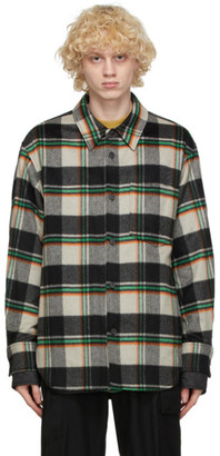 Solid Homme Black Check Shirt