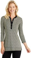 J.Mclaughlin Biscayne Tunic in Roma Medallion