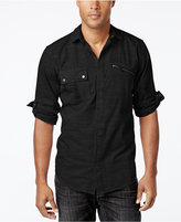 INC International Concepts Men's Rango Roll-Tab Long-Sleeve Shirt, Only at Macy's