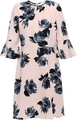Kate Spade Star Bright Floral-print Crepe Dress