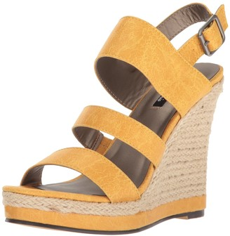 Michael Antonio Women's Givs Espadrille Wedge Sandal