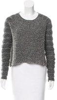 Helmut Lang Oversize Wool-Blend Sweater