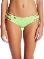 Maaji Women's Spearmint Knots Cheeky Bikini Bottom