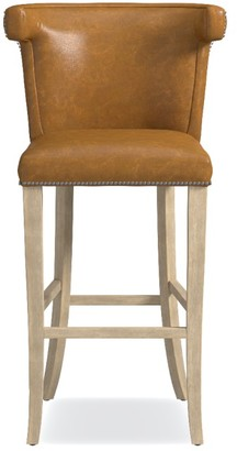 Williams-Sonoma Regency Leather Counter & Bar Stool