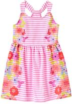 Gymboree Floral Stripe Dress