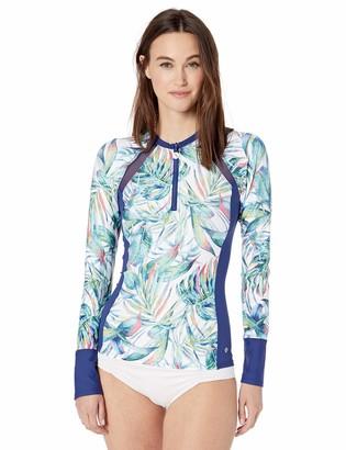 Next Women's Detox Lone Sleeve Rashgaurd Swimsuit Top