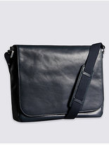 M&s Collection Leather Dispatch Messenger Bag